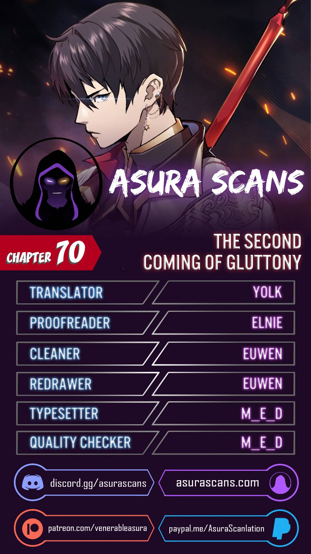 The Second Coming of Gluttony - chapter 70 - #1