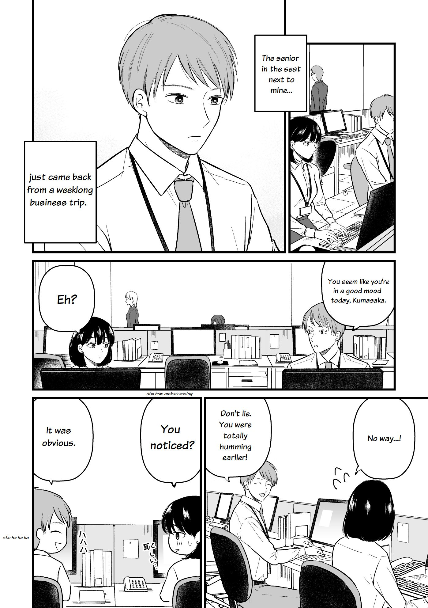 The Senior and Junior Broke up Three Months Ago - chapter 9.5 - #1