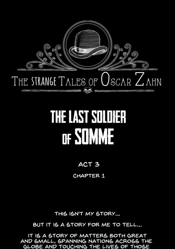 The Strange Tales Of Oscar Zahn - chapter 24 - #1