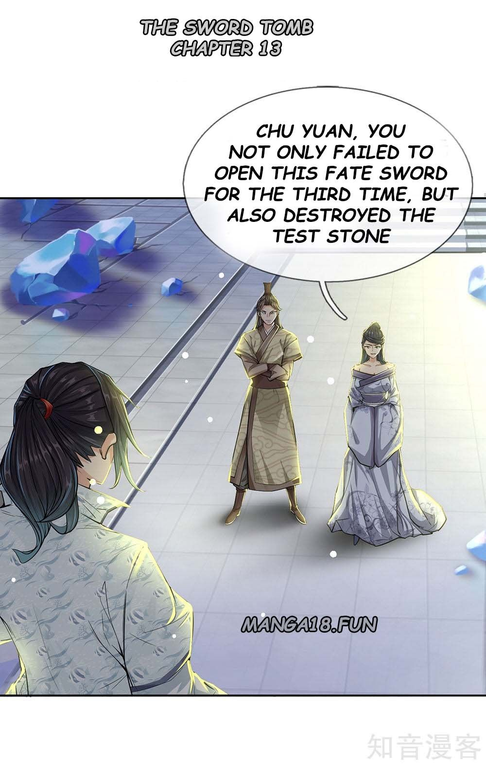 The Sword Tomb - chapter 13 - #1