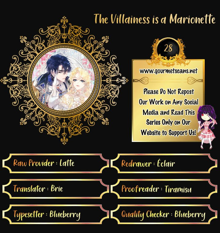 The Villainess is a Marionette - chapter 28 - #1