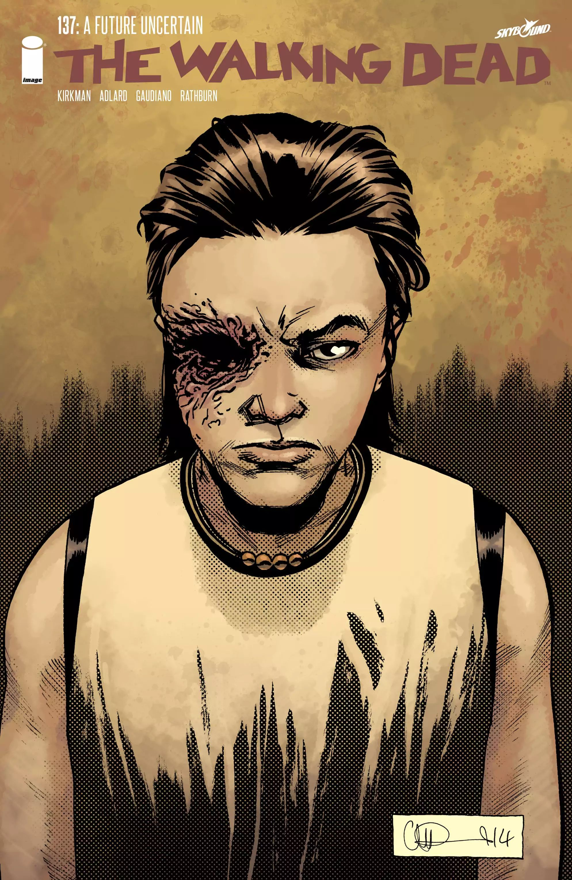 The Walking Dead - chapter 137 - #1