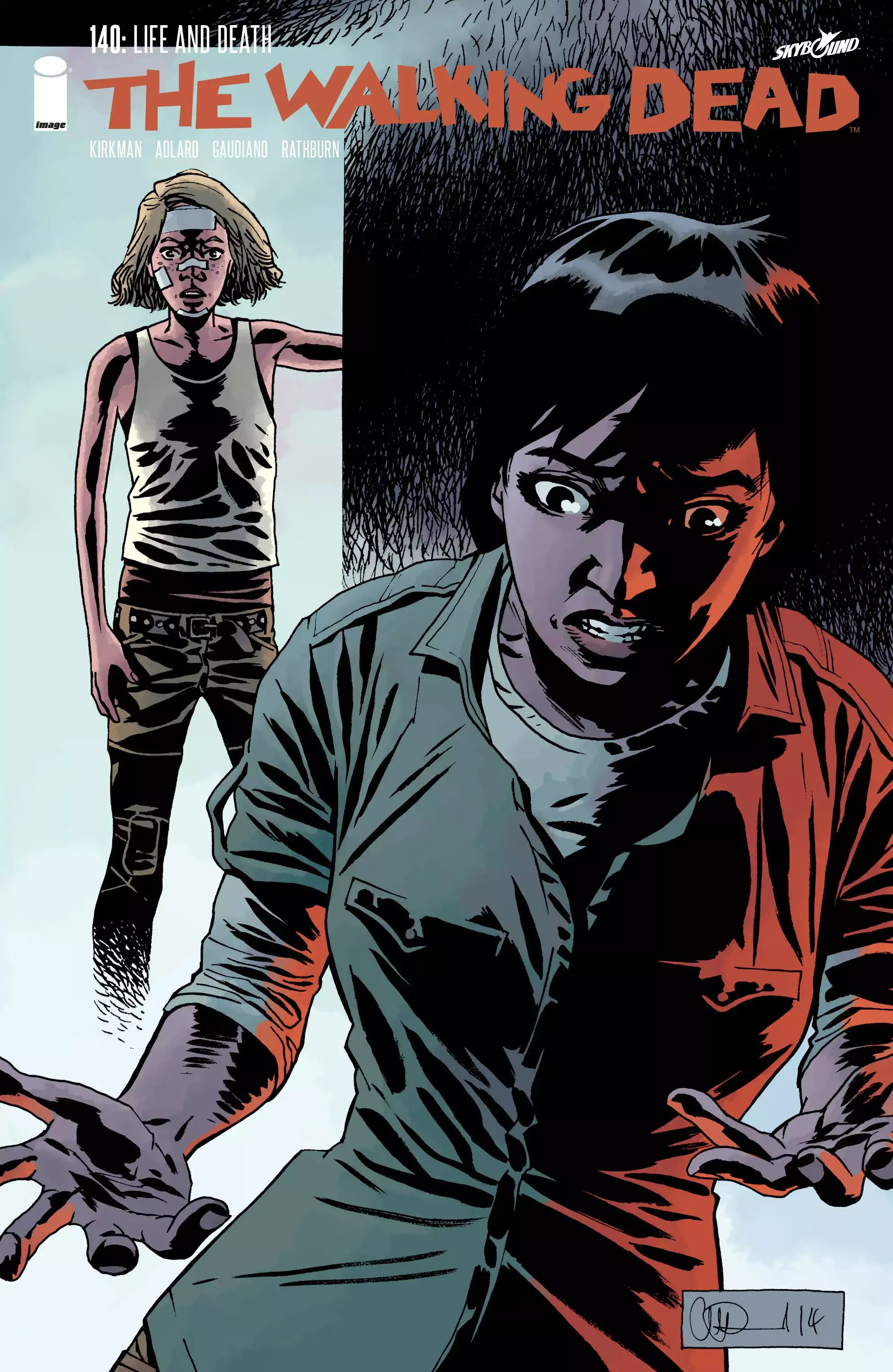 The Walking Dead - chapter 140 - #1