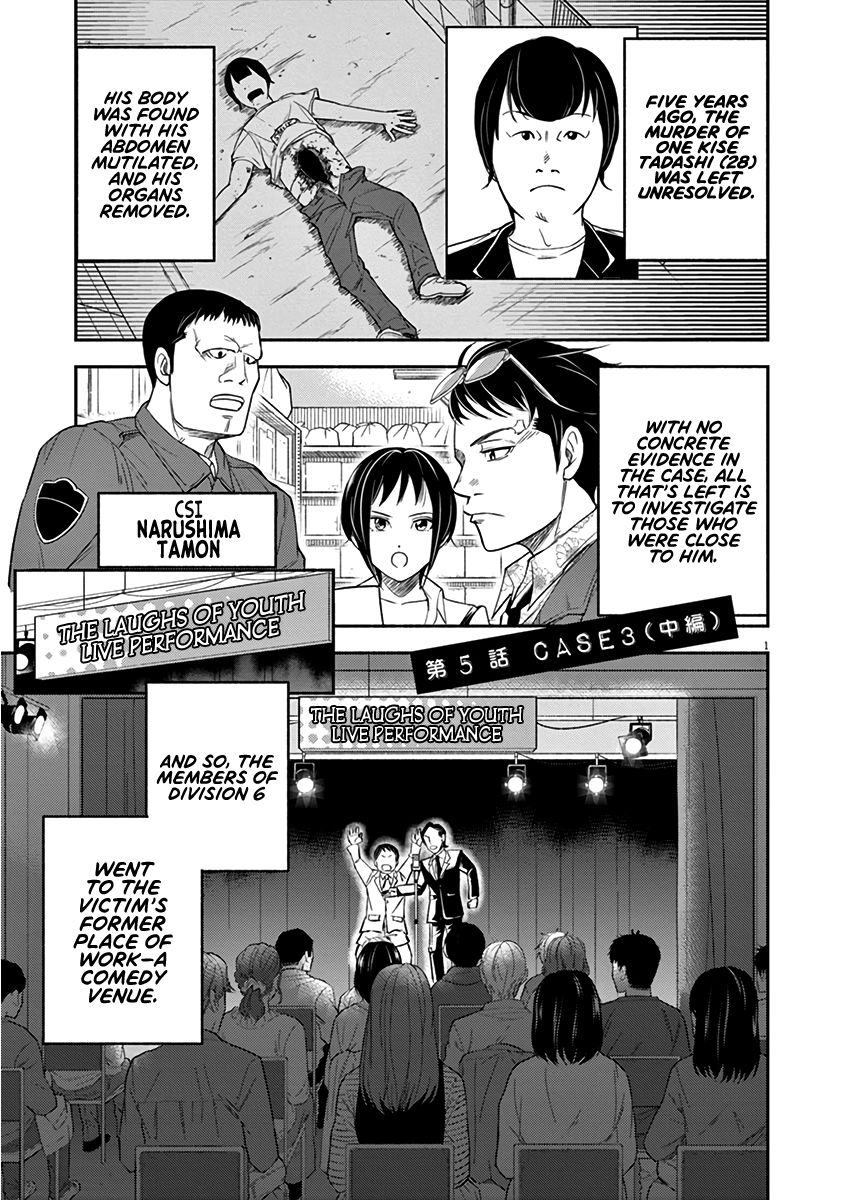 To Read The Criminal Tells - chapter 5 - #1