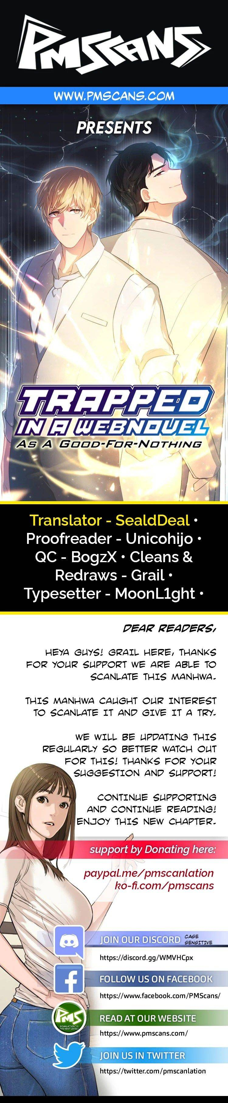 Trapped In A Webnovel As A Good-For-Nothing - chapter 50 - #1