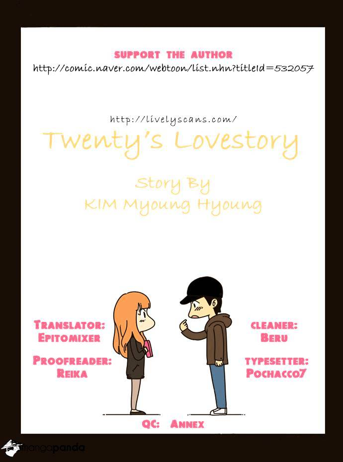 Twenty's Lovestory - chapter 12 - #1
