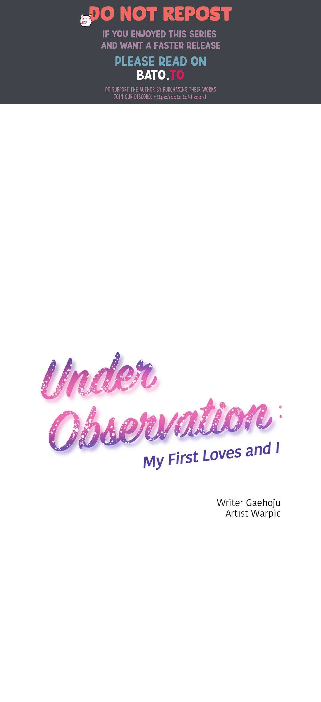 Under Observation: My First Loves And I - chapter 34 - #1