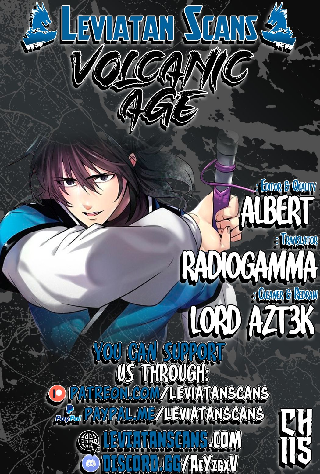 Volcanic Age - chapter 115 - #1