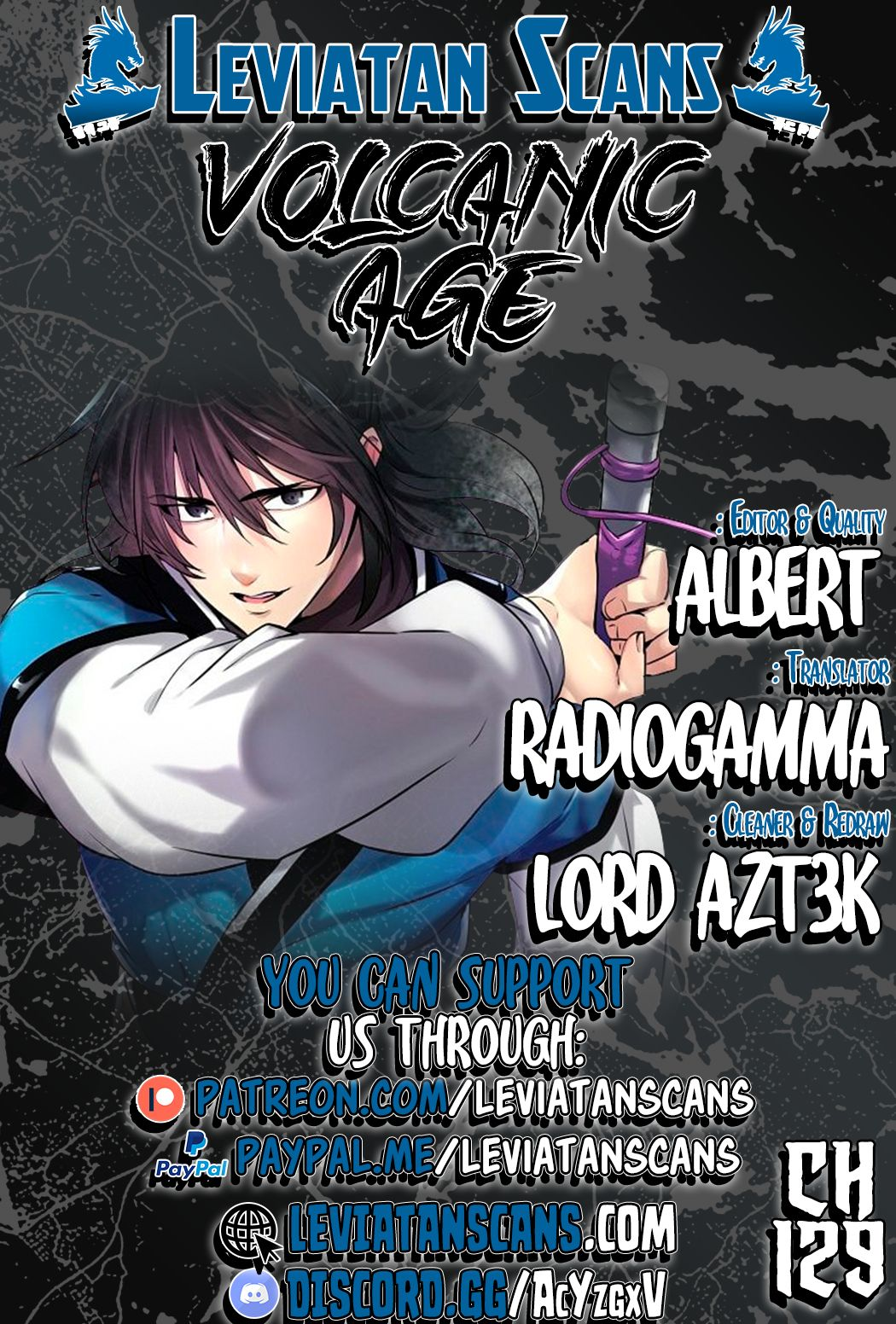 Volcanic Age - chapter 129 - #1