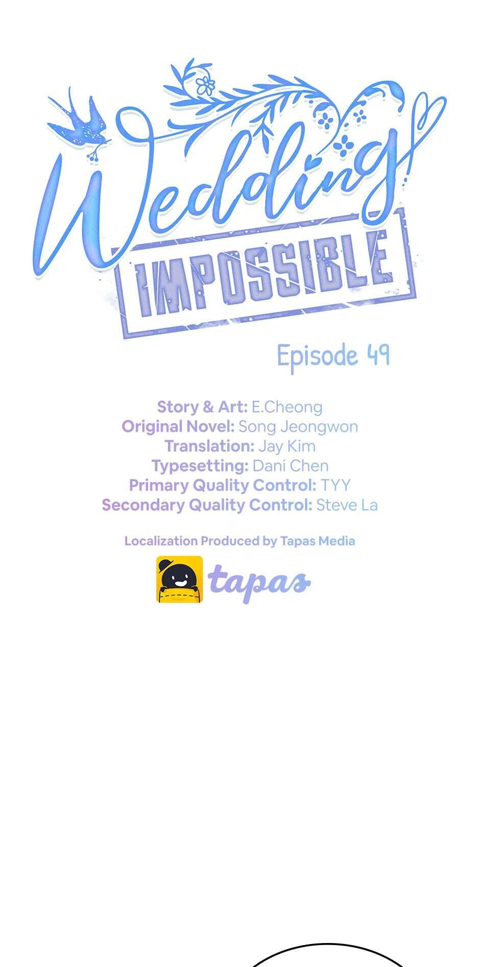 Wedding Impossible - chapter 49 - #1