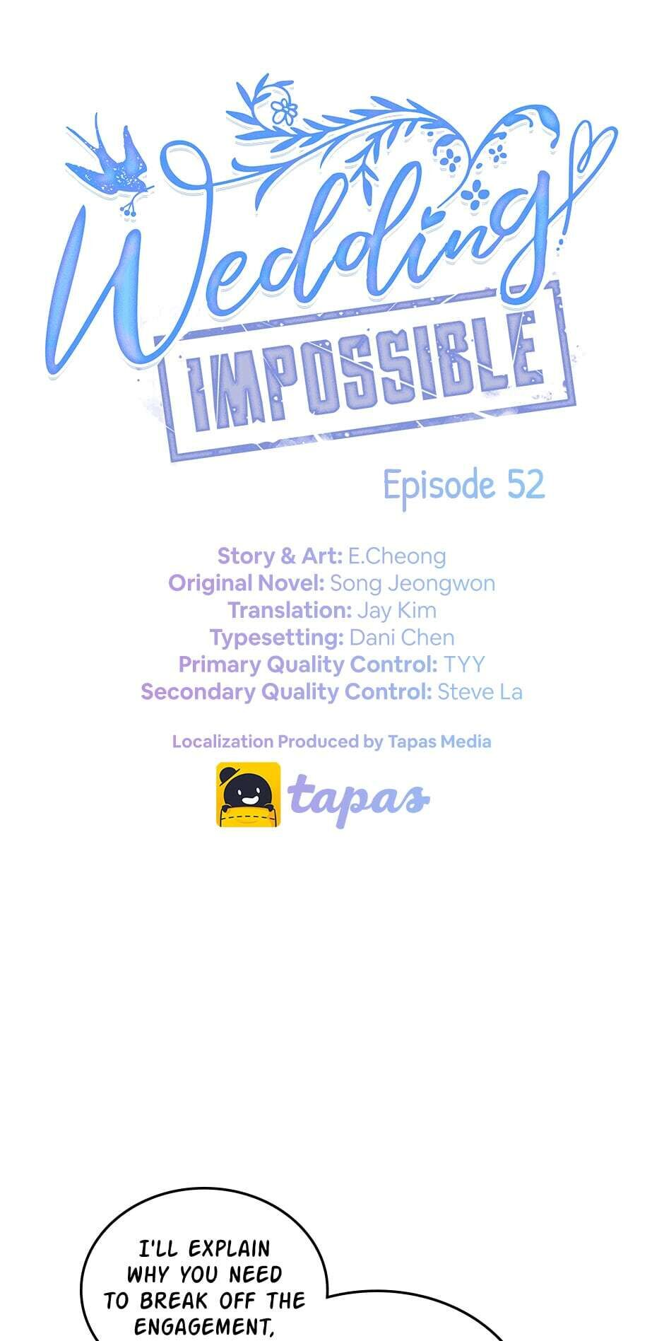 Wedding Impossible - chapter 52 - #1
