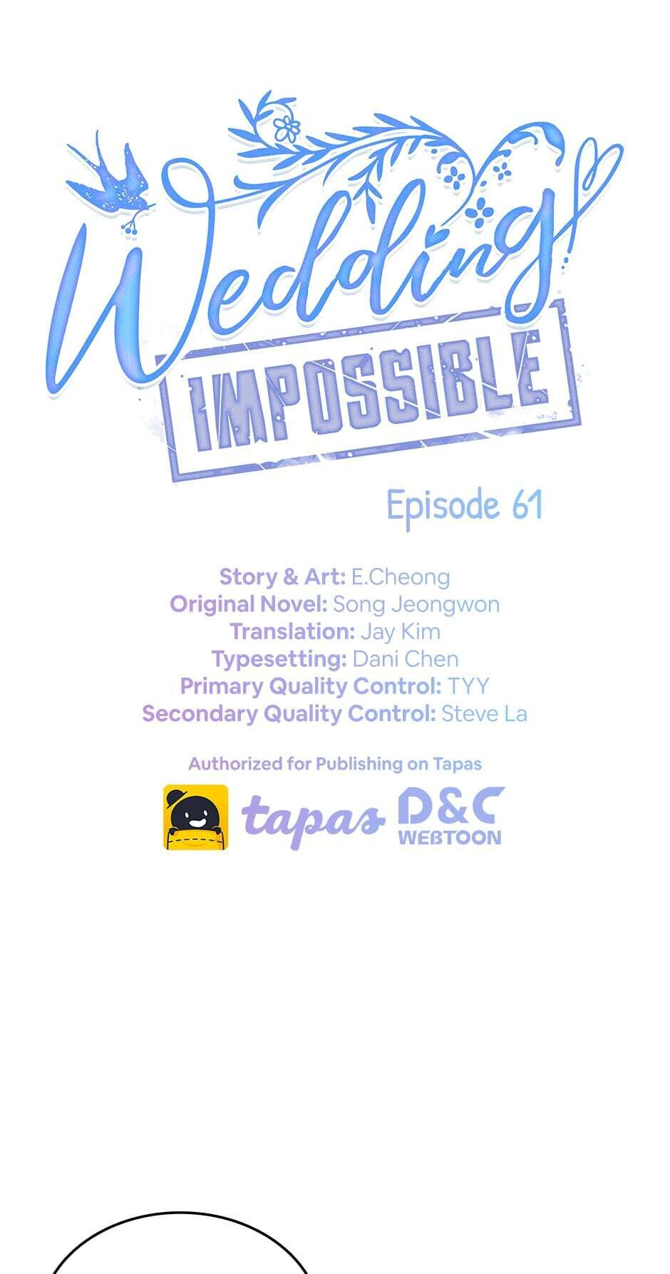 Wedding Impossible - chapter 61 - #1