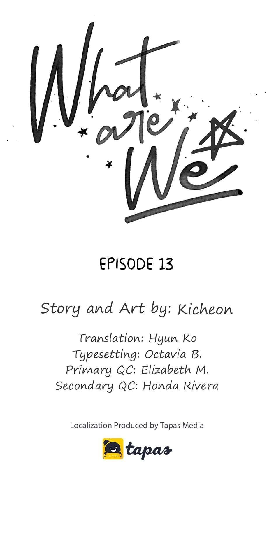 What Are We - chapter 13 - #1