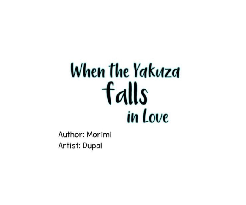 When The Yakuza Falls Inlove - chapter 12 - #1