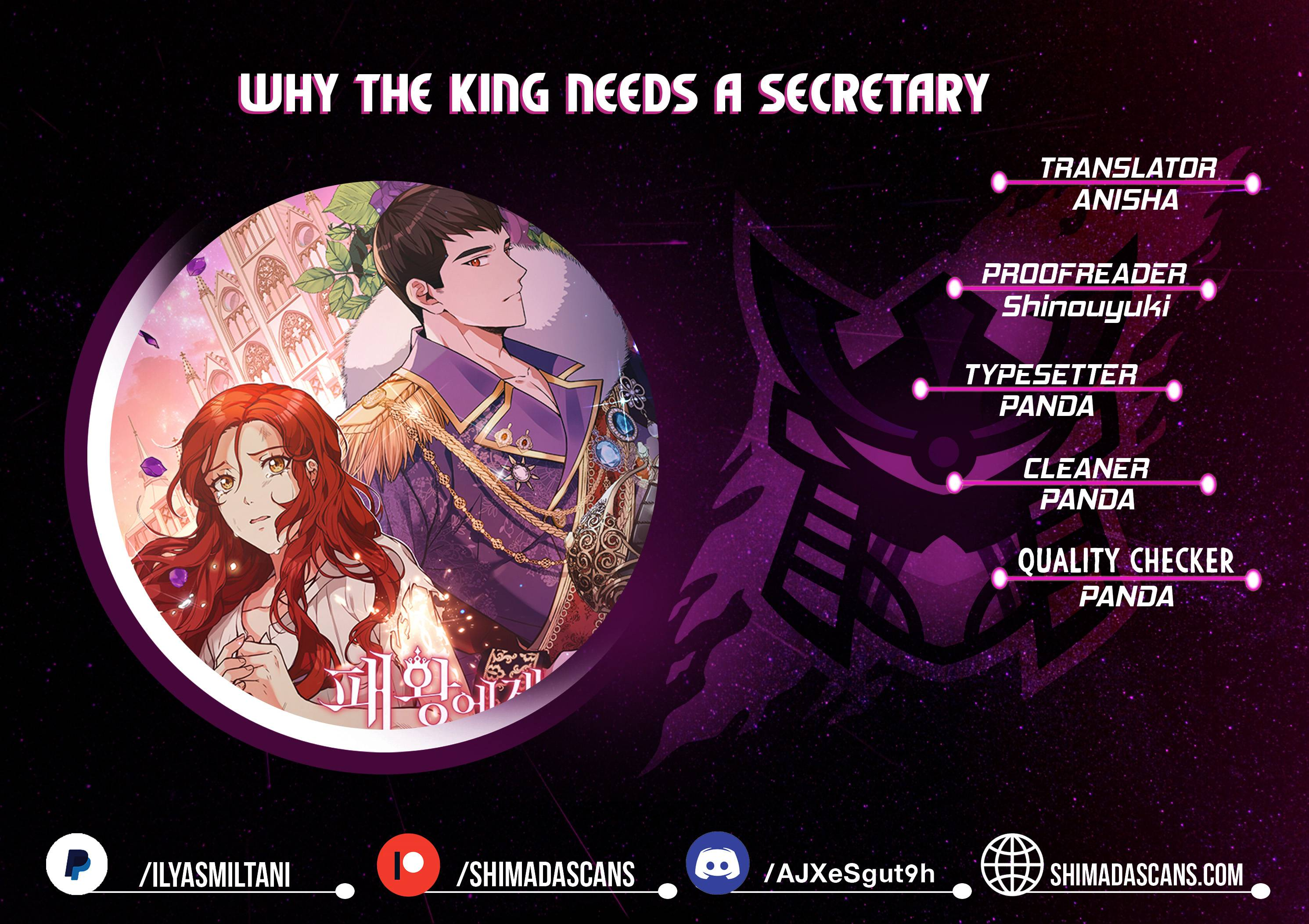 Why The King Needs A Secretary - chapter 25 - #1