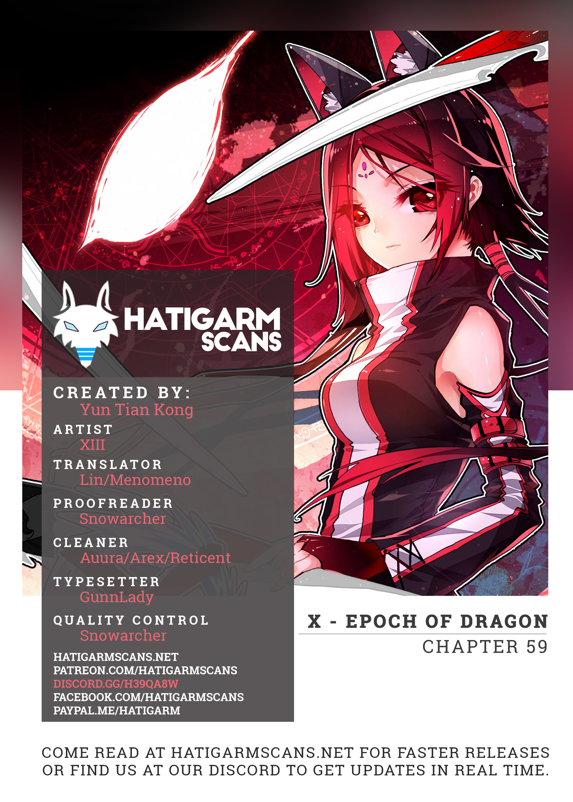 X Epoch of Dragon - chapter 59 - #1