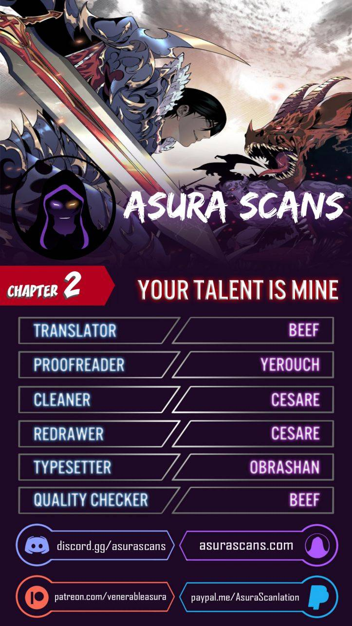 Your Talent is Mine - chapter 2 - #1