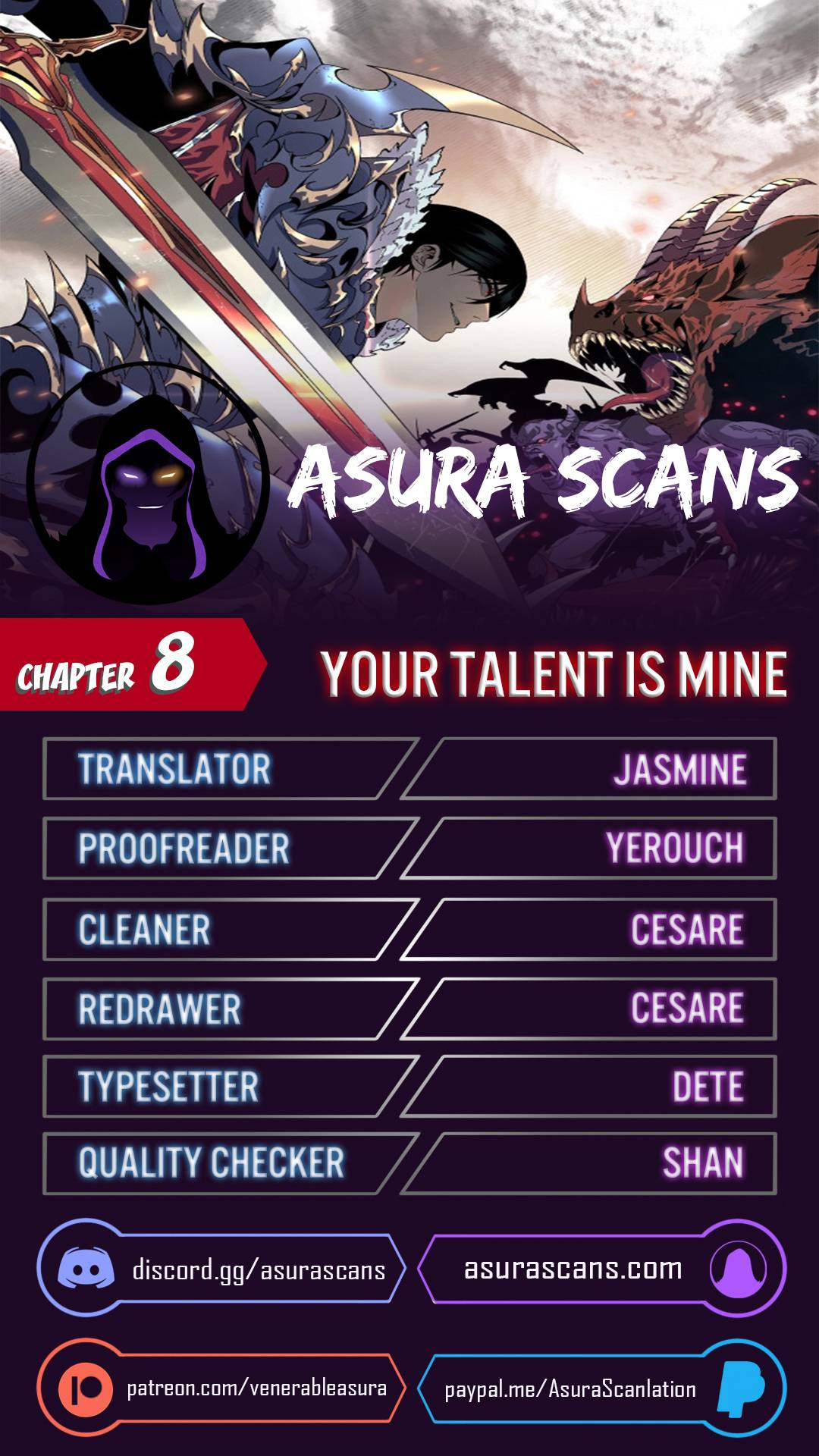 Your Talent is Mine - chapter 8 - #1